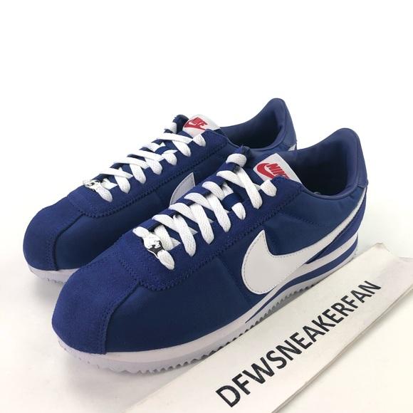 hot sale online 33291 50a39 Nike Cortez LA Dodgers Shoes Men's Shoes NWT